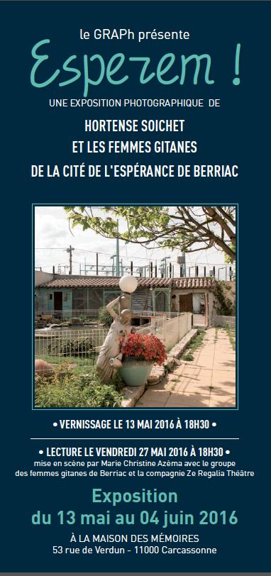 """Exposition """"Esperem"""" à Carcassonne"""